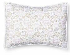 Pillowfort Shine Bright Diamonds Standard Sham ~ NEW