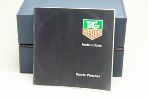 Tag Heuer Instructions Booklet for Sports Watches - Series 2000