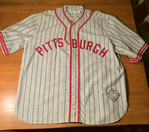 1935 PITTSBURGH Crawfords Road Jersey Ebbets Field Flannels XXL baseball jersey