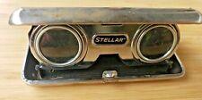 Vtg Folding Opera Glasses 2.5x Coated Lens - Binoculars Made In Japan