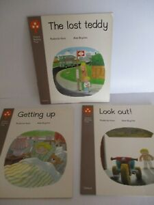 3 Oxford Reading Tree Books Stage 1