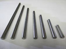 """Set of 7 stainless steel axles.  """"X"""" style works with Lego Technic gears!"""