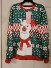 LLAMA UGLY CHRISTMAS SWEATER XL  NEW FREE SHIPPING! (You Look Ugly Today)