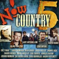 Now Country 5 by Various Artists (CD 2010) 17 Song Lady Antebellum Blake Shelton