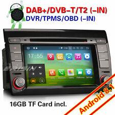 Android 8.1 GPS Autoradio Navigation 4G BT CAM DTV DAB+ OBD2 Wifi per Fiat Bravo