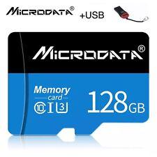 Tarjeta Micro SD 128gb 64gb 32gb + USB + SD ADAPTADOR Adapter