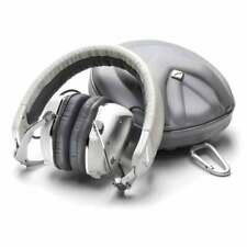 V-Moda XS White Silver On-Ear Headphones (X1- Ex-Display- With Warranty)