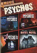 NEW DVD - PSYCHO - 4MOVIE PACK-2 +3+4 +BATES MOTEL - Anthony Perkins, Vera Miles
