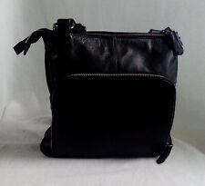 Ladies Hotter Leather Shoulder Bag - H 25 cm, W 25 cm