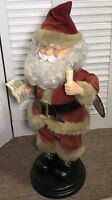 """20"""" Animated Singing Talking Santa Claus Motionette 1998 Telco Creations"""