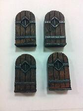 Legendary Realms Terrain - Accessory - Door, Solid Wooden - Set of 4