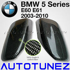 Carbon Fiber Side Mirror Cover BMW 5 Series E60 E61 Tunezup