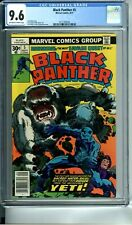 BLACK PANTHER 5 CGC 9.6 JACK KIRBY STORY COVER & ART 9/77 Marvel Comics