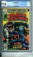 BLACK PANTHER 5 CGC 9.6 JACK KIRBY STORY COVER & ART 9/77 Marvel Comics