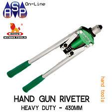 WYNN'S LONG ARM HAND GUN RIVETER POP RIVET PLIERS 430MM HEAVY DUTY - WA108B