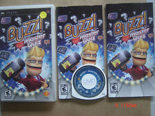 Video Game Sony PSP Buzz! Master Quiz Complete