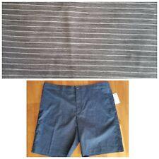 New CALLAWAY Men's 38 X 9.5 Inseam Gray Stretch Waistband Golf Shorts SPF 50