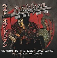 DOKKEN  RETURN TO THE EAST LIVE 2016  cd w/ dvd    DELUXE