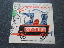 Retro Vintage Retro STORK'S TOUR OF BRITAIN'S COOKING + Illustrated