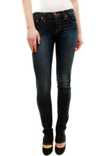 J BRAND Women's NBW Cigarette Leg Jeans Blue Dark Vintage Size 25 RRP £198 BCF78