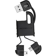 Scosche flipSYNC II Keychain Charge and Sync Cable for Micro & Mini-USB Devices