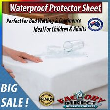 Waterproof Protector Sheet Children Adults Bed Wetting Continence Convenient