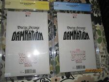 Doctor Strange Damnation #1 CGC 9.8 SS Signed Garron Young Guns Cover Variant +1