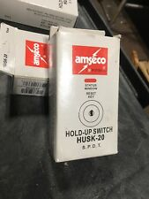 Amseco Potter Husk-20 Latching Hold-Up Switch *New*