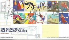 wbc. - GB - FIRST DAY COVER - FDC - COMMEMS -2011- OLYMPIC GAMES - Pmk TH