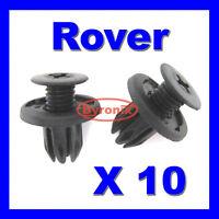ROVER 25 45 75 MG ZS MGF 200 400 BUMPER PLASTIC CLIPS RIVET SCRIVET - DYQ100230