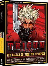 Trigun .. The Complete Series .. Anime Classics ... 4 DVD .. NEU .. OVP