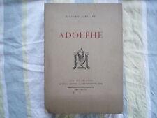 1923 ADOLPHE DE B CONSTANT ED NUMEROTEE CHEZ LE LIVRE FRANCAIS PIAZZA PARIS
