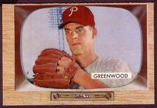 1955 BOWMAN BOB GREENWOOD CARD NO:42 NEAR MINT AL13W