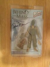 """SIGNED Behind The Mask: The Rise Of Leslie Vernon 7"""" Action Figure DeConte +PIC"""