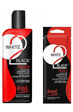 Devoted Creations WHITE 2 BLACK TINGLE Ultra Fast Darkening & Hot Tanning Lotion