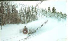 SOUTHERN PACIFIC-ROTARY PLOW-YUBA PASS, CALIFORNIA-1993-(AV3060)