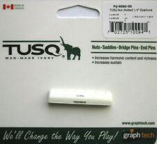 Graph Tech Tusq Nut Slotted, Epiphone Saddle, White