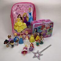 Disney Princess 12x Figures / Bag / Tin Bundle Joblot Set + More