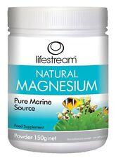 Lifestream di magnesio naturale (Pure Marine origine) in polvere 150 grammi