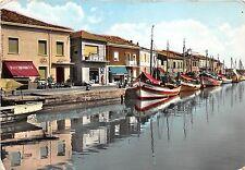 BG3186 ship bateaux cesenatico pensioni sul porto canale   CPSM 15x9.5cm italy