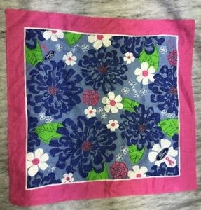 Ford Breast Cancer Awareness Handkerchief bandanna Lily Pulitzer Floral