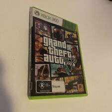 Grand Theft Auto V (Microsoft Xbox 360, 2013) PAL Complete With Manual & Map VGC