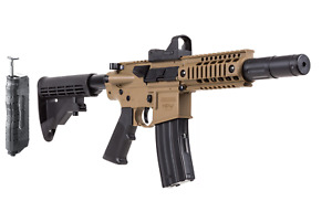 Bushmaster MPW - Full-Auto CO2 BB Air Rifle - Red Dot & Speed Loader - 430 FPS