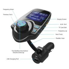 Wireless Auto Bluetooth FM Transmitter mp3 Radio Adapter Auto Kit USB chauulk
