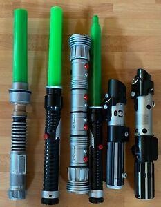 Original Vintage Star Wars Lichtschwert zum Auswählen Hasbro / Lucasfilm Merch