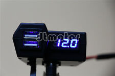 USB Charger LED Voltmeter For Harley Davidson Fatboy Heritage Softail Classic