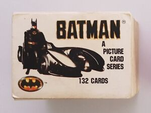 Batman 1989 Collectible Cards Series 1 & 2 COMPLETE