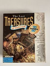 THE LOST TREASURES OF INFOCOM*COMPUTER BIG BOX GAME+BIG HINT BOOK*Tested & Works