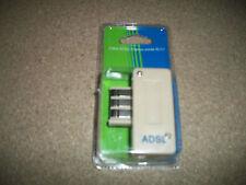 1 prise téléphone, filtre ADSL avec connecteur femelle, sorti RJ11, neuve