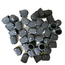 50Pc Useful Car SUV lack Plastic Wheel Tire Valve Air Dust Cover Stem Caps